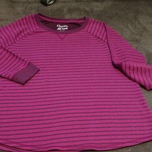 Ladies Hanes NWOT tunic Sweatshirt,sz.xxl